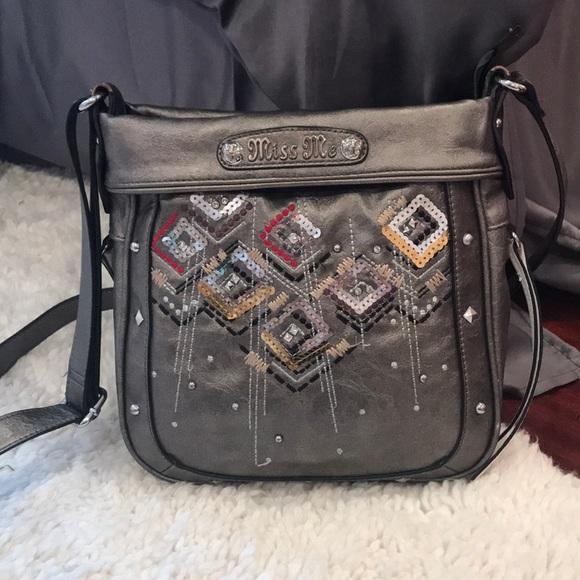 Miss Me Handbags - Miss Me cross-body purse